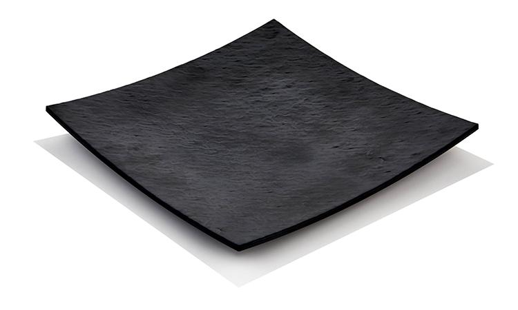 MATTE BLACK STAR PLATE